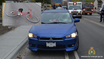 Cyclist Runs Into Car