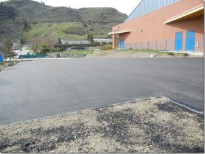 New Parking Lot Soon To Open At Kal Tire Place