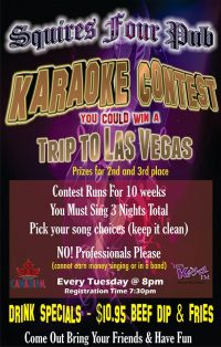 Karaoke Contest Is Back!