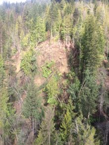 Landslide Watch Continues At Kaslo Landslide Site