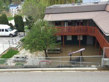 Kindale Facilities Flooded
