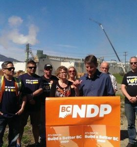 Candidates Stand-Up For Forestry Jobs