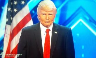Trump's Trumped By Singing Trump!