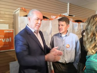 NDP Leader Offers 'Better BC' at Vernon Visit