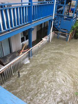 Vernon Motel Flooded