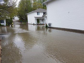 Flooding in Areas of Vernon