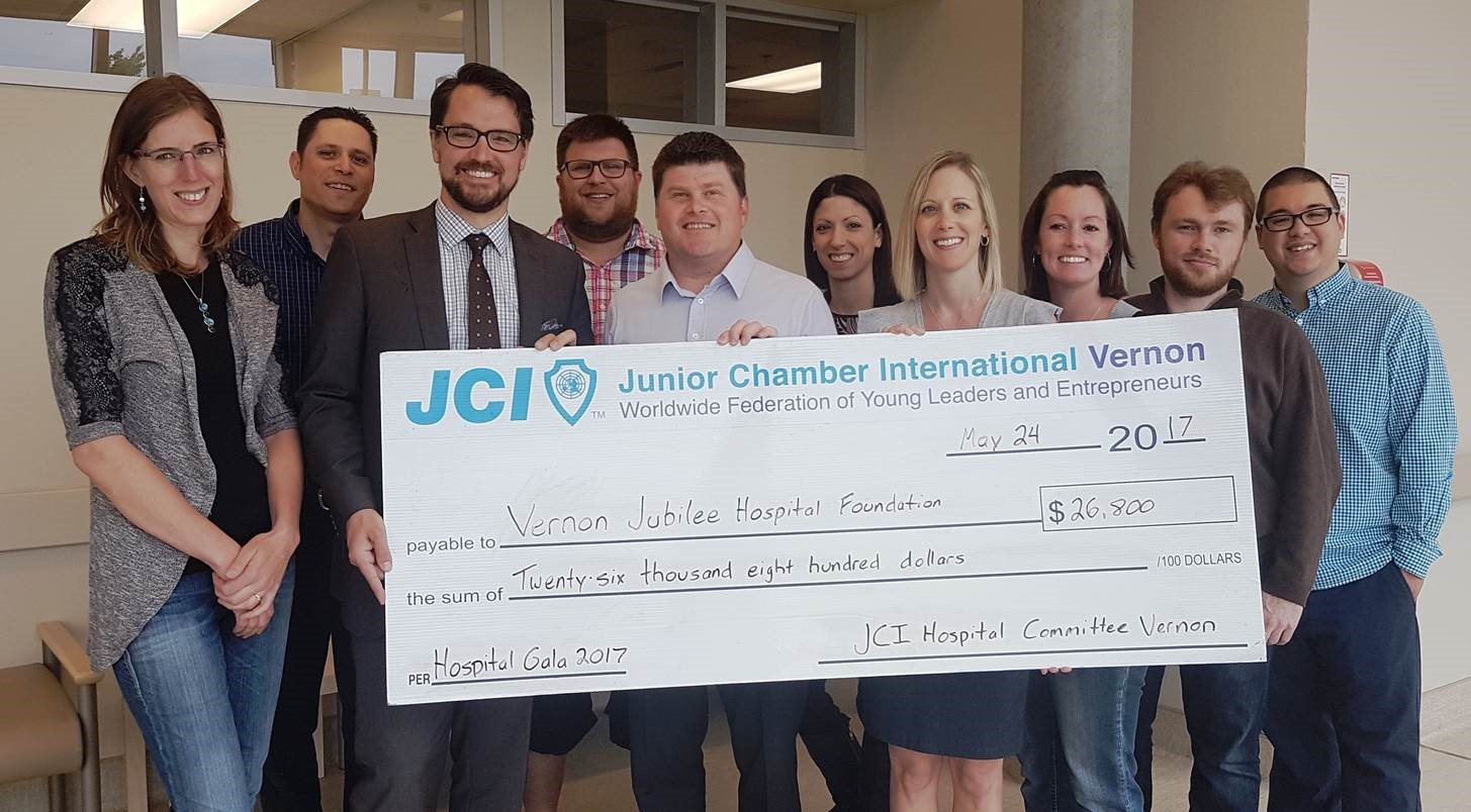 JCI Gala Raises Funds For VJH Cardiac Equipment