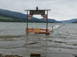Pier Closed At Kal Beach