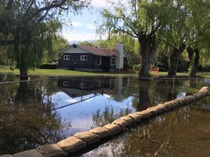 Coldstream Deals With High Water In Lagoon