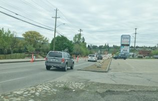 Kalamalka Road Work Nearing Next Phase