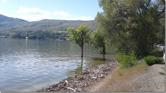 Okanagan Lake Up Again