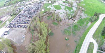 Waterlogged in Lumby