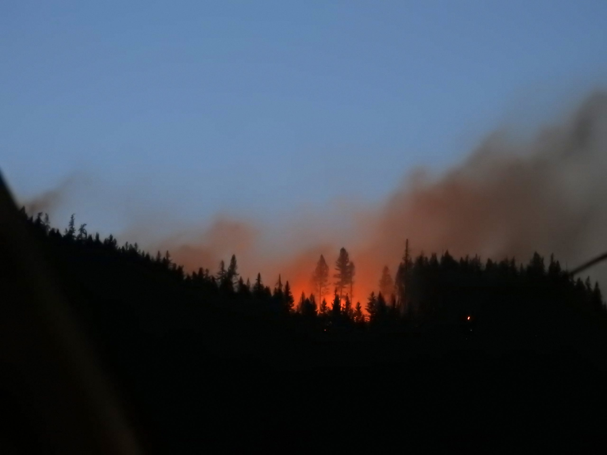 Update: Alert Lifted For Lumby Area Wildfire