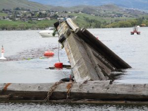 Capsized Barge Owner To Have It Removed
