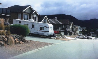 RV Parking Change Sought