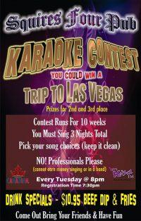 Karaoke Finals & Concert Updates!