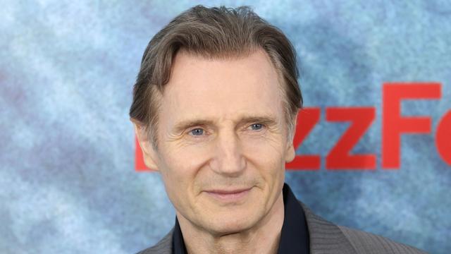 Like free food?  Liam Neeson does!