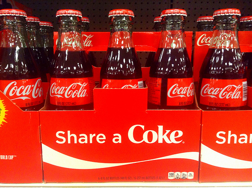 Have a Coke and...a Tan?