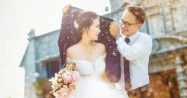 The truth behind this wedding photo is awful