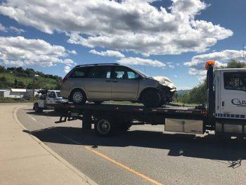 Crash on Highway
