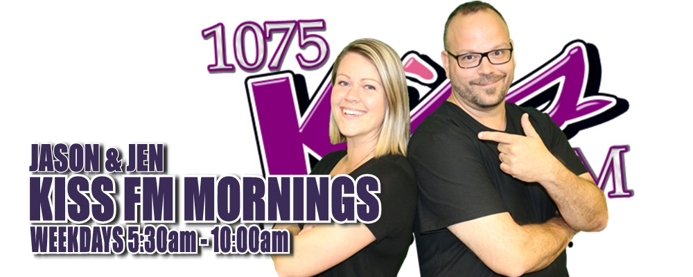 KISS Mornings with Jason & Jen
