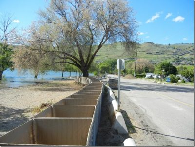 Okanagan Lake Rises More From Sunday