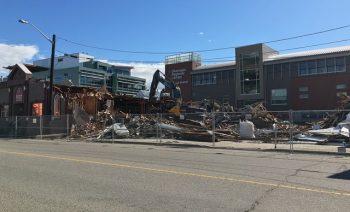 City Buildings Torn Down