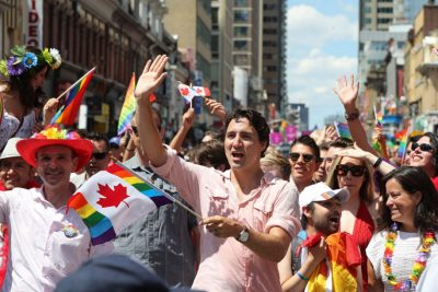 Trudeau Participates in Pride Parade