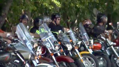 Bikers Escort Bullied Kid to School