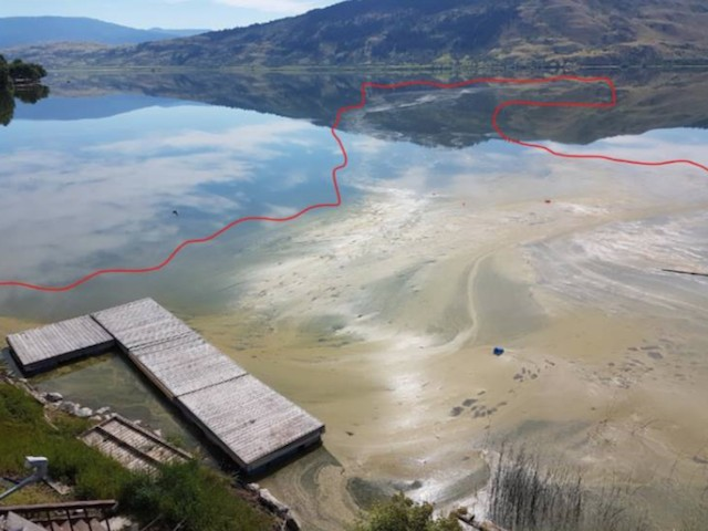 Sewage Leak Into Okanagan Lake