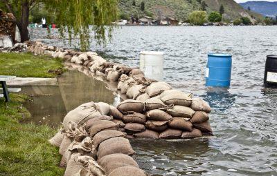 Vernon Residents Get Help With Sandbag Removal