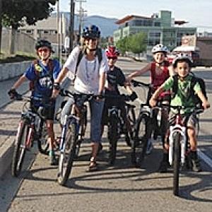 Bike Skills Facility Proceeding in Park