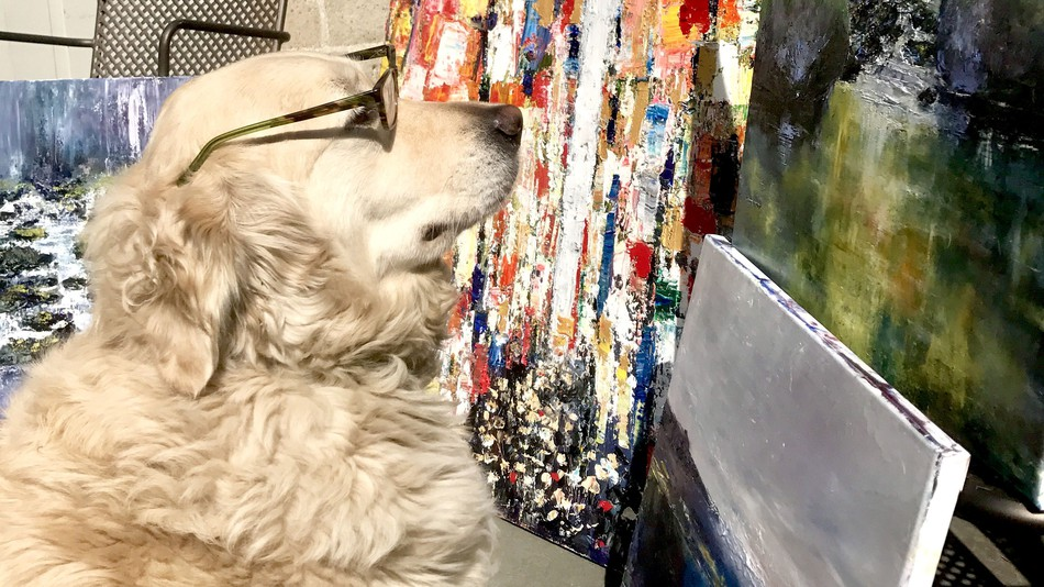 This Dog Is An Art Critic