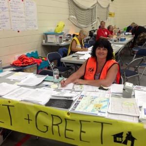 Cariboo Evacuees Register in Vernon