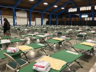 Over 900 Evacuees Register