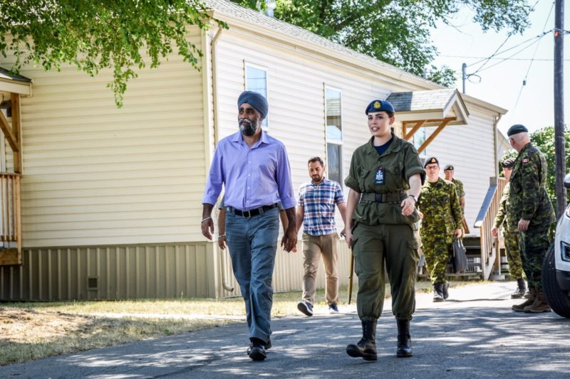 Defence Minister Likes Cadet Camp - Not So Much North Korea