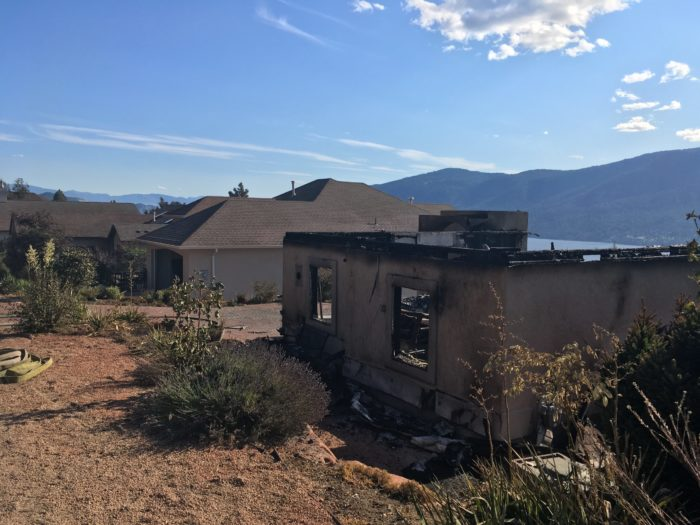 Eight Homes Lost In Wildire