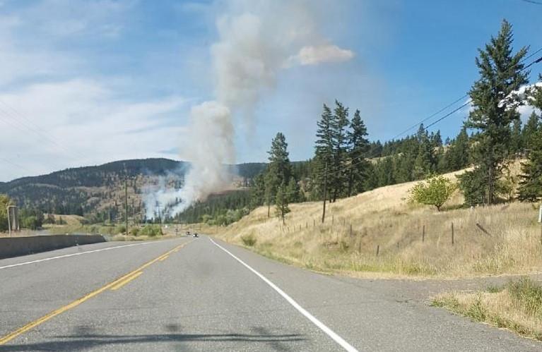 Monte Lake Fire Grows; 39 Properties Evacuated