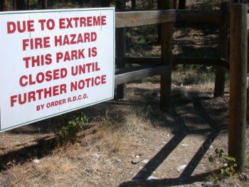 Regional Parks Closed