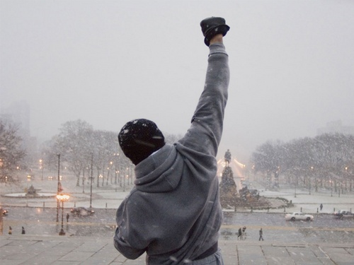 How is Rocky Balboa helping the business world?