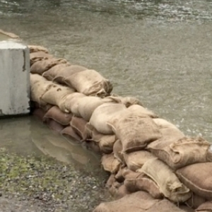 Final Phase of Sandbag Removal