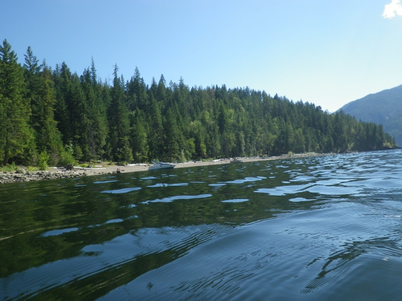Drowning in Shuswap Lake