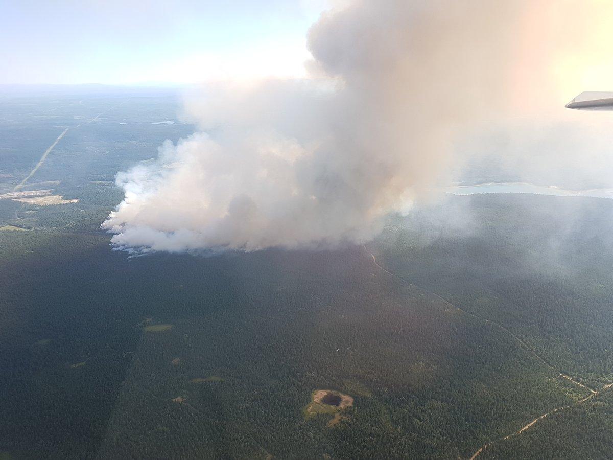 Major Fires Near Ashcroft & 100 Mile House