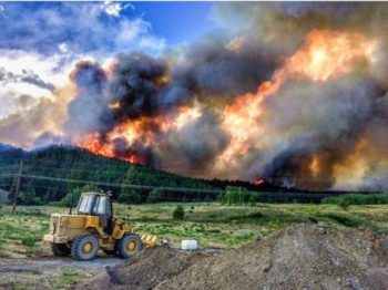 BC Firefight Stable But Facing Uncertain Weather