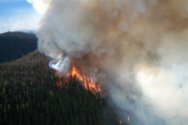 Wildfire Service Warns Care