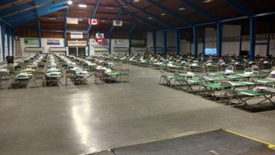Vernon Curling Rink Accepts Evacuees