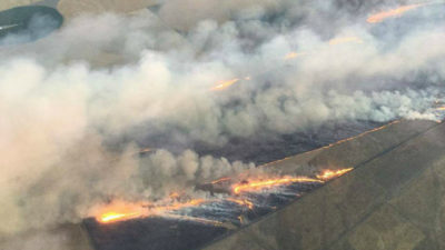 Washington State Fire Sends Smoke into Southern BC