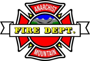 Small Fire On Anarchist Mountain