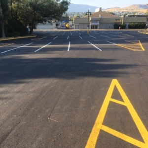 Parking Lot Upgrade Done