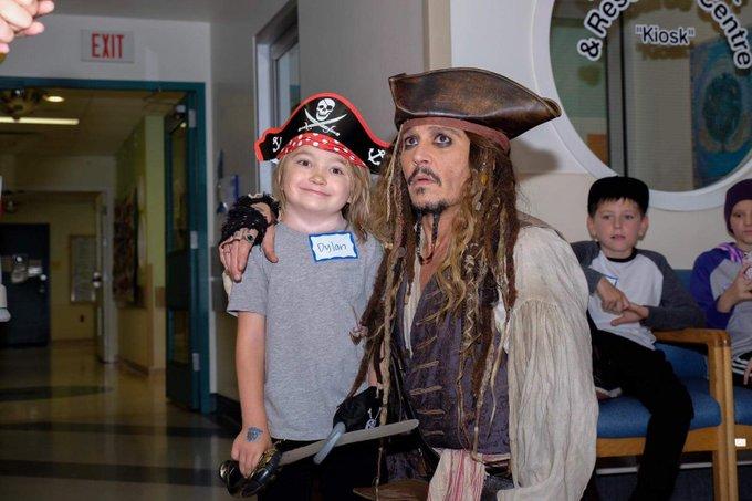 Captain Jack sails into B.C. Children's Hospital